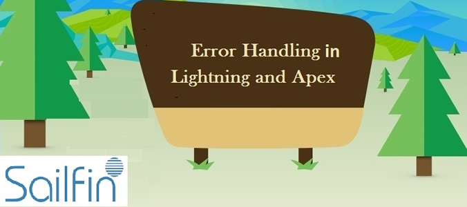 Error Handling In Lightning & Apex